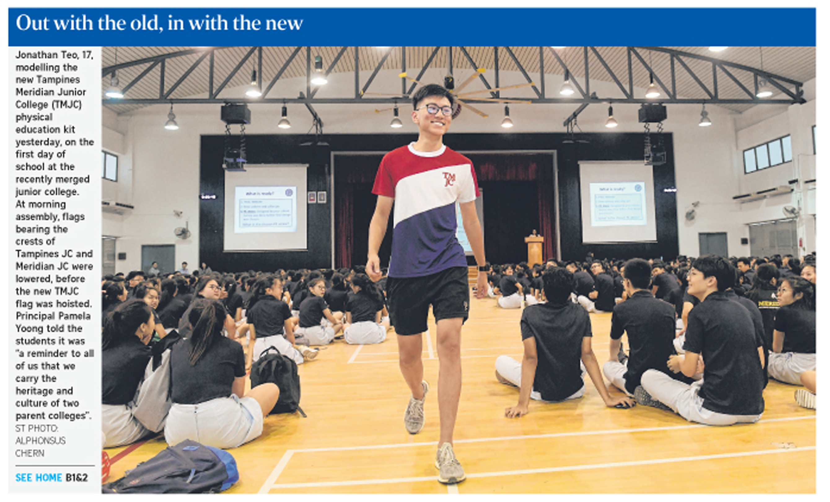 Out with the old, in with the new (The Straits Times).JPG