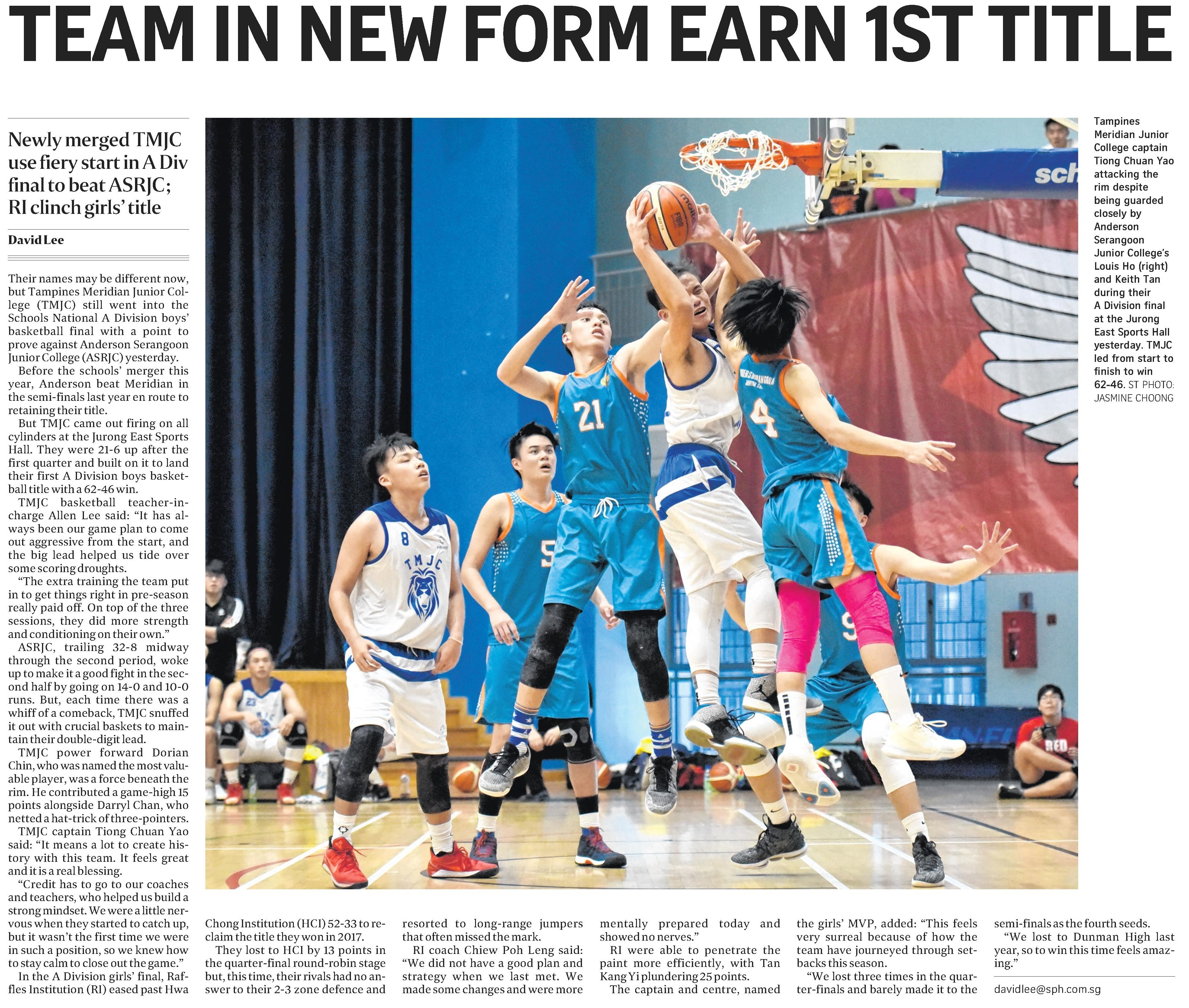 Team in New Form Earn 1st Title (The Straits Times).jpg